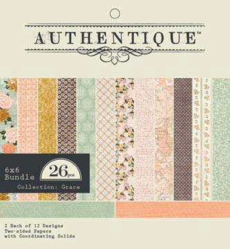 Authentique Paper Pad - Grace (24 sheets)