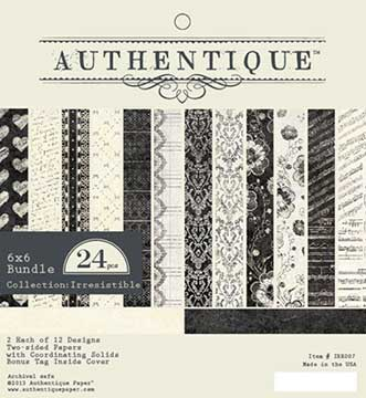 Authentique Paper Pad - Irresistible4(26 sheets)