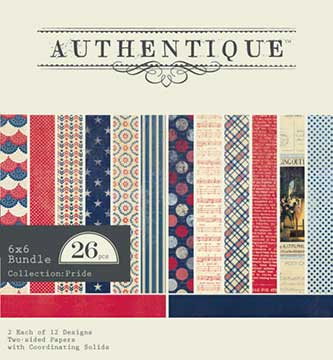 Authentique Paper Pad - Pride (26 sheets)