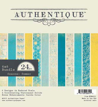 Authentique Paper Pad - Summer (24 sheets)