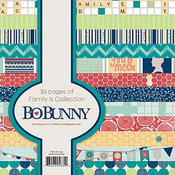 Bo Bunny 6 x 6 Paper Pad - Family Is