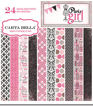 Carta Bella - Paris Girl